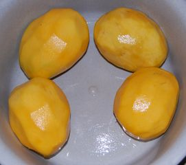 oloupané mango